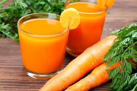 Nước ép cà rốt có rất nhiều vitamin A